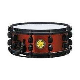 "TAMA TAMA RB1455 Ronald Bruner Signature 5.5""x14"" Walnut/Steel Hybrid Snare Drum"