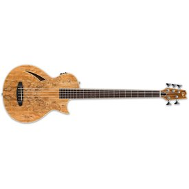LTD ESP LTD TL-5 Spalted Maple 5-string Natural Acoustic/Electric Bass