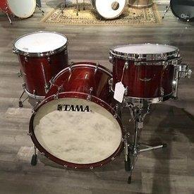 TAMA TAMA STAR Walnut 3-Piece Shell Pack with 20 in. Bass Drum Red Bugundy Walnut