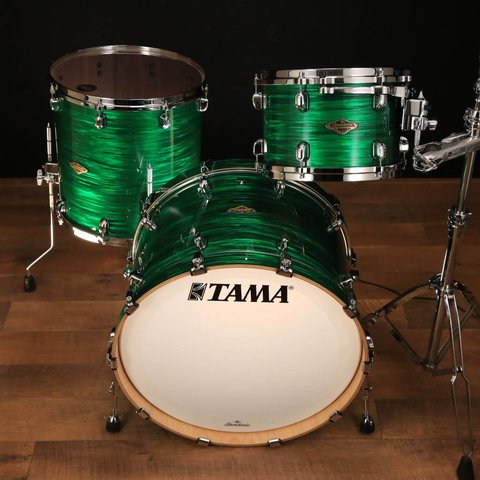 TAMA Starclassic Walnut/Birch 3-piece shell pack Jade Silk