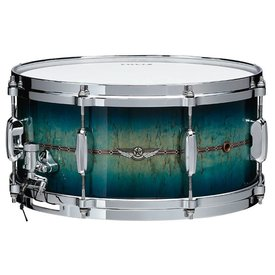 "TAMA TAMA STAR Bubinga Limited Edition 6.5""x14"" Bubinga snare drum Blue Viking"