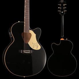 Gretsch Guitars Gretsch G5022CBFE Rancher Falcon Jumbo Cutaway Acoustic Electric Black S/N 180801444, 5lbs 11.7oz