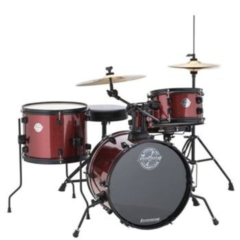 Ludwig LC178X025 Questlove Pocket Kit Wine Red Sparkle