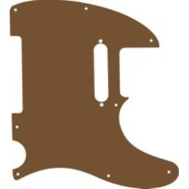Brummetts Creek Leather BCL Leather Telecaster Pickguard Brown