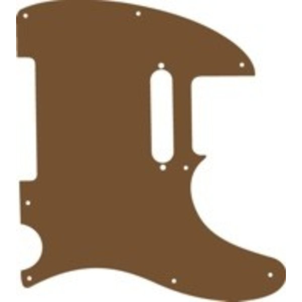 Brummetts Creek Leather BCL Telecaster Pickguard Brown