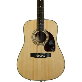 Epiphone Epiphone EA2TNACH1 DR-212 12 String Natural Chrome Hardware
