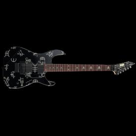 LTD ESP LTD Kirk Hammett Signature Demonology Left Handed Electric Guitar