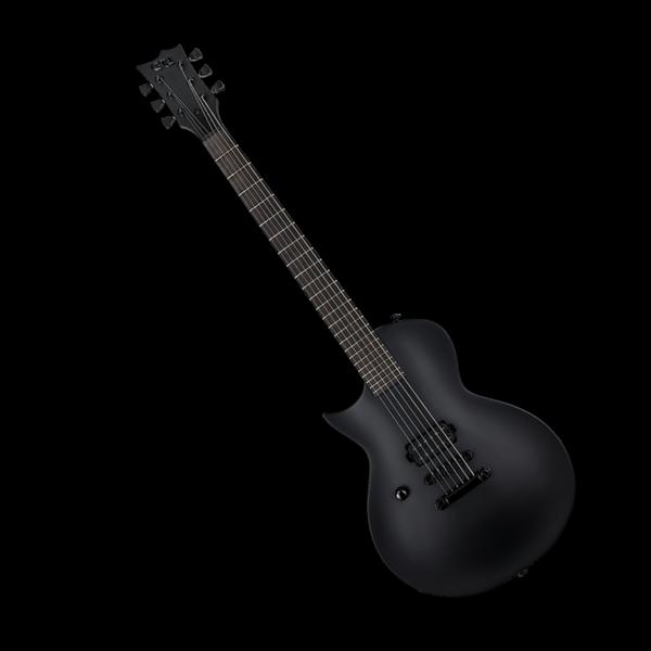 LTD ESP LTD EC-Black Metal Black Satin Left-Handed Electric Guitar