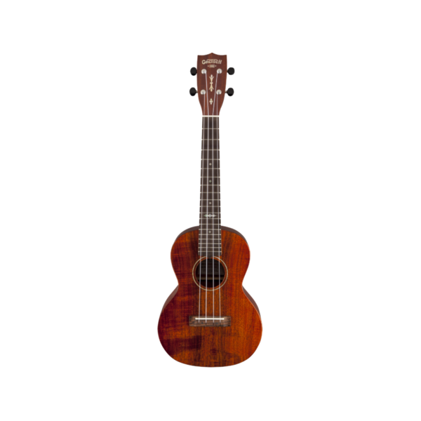 Gretsch Guitars Gretsch G9120-SK Tenor Koa Ukulele with Gig Bag, Solid Koa, Open Pore, Semi-Gloss Finish