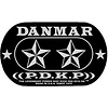 Danmar 210DK Iron Cross Double Bass Drum Pad