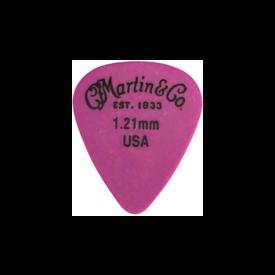 Martin Martin 18AP5121 Pick, Standard, Delrin, 1.21mm, Purple, HG