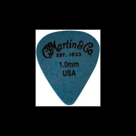 Martin Martin 18AP5100 Pick, Standard, Delrin, 1.00mm, Blue, HG