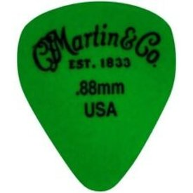 Martin Martin Pick, Standard, Delrin, .88mm, Green, HG