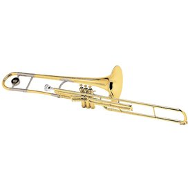 King King 2166 3B Series Professional Valve Trombone, Silver Plated