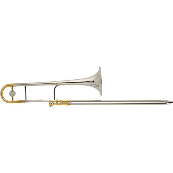 King King 3B Legend Series Professional Tenor Trombone, Gold Brass Bell