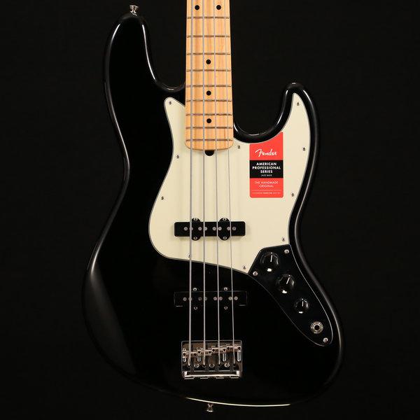 Fender American Pro Jazz Bass, Maple Fingerboard, Black S/N US17052791