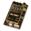 LR Baggs DS Element Int Preamp/Mixer w/ Element Pickup, Mic & Rem Control II