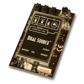 LR Baggs LR Baggs DS Element Int Preamp/Mixer w/ Element Pickup, Mic & Rem Control II