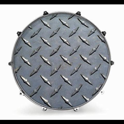 "Evans 20"" Texture Diamond Plate"