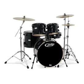 PDP PDP Mainstage Kit w/ Zildjian 360 - Black Metal
