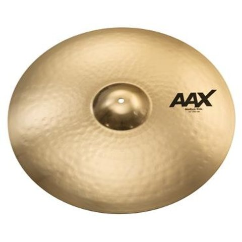 "Sabian AAX Medium Ride Cymbal - 22"" - Brilliant"