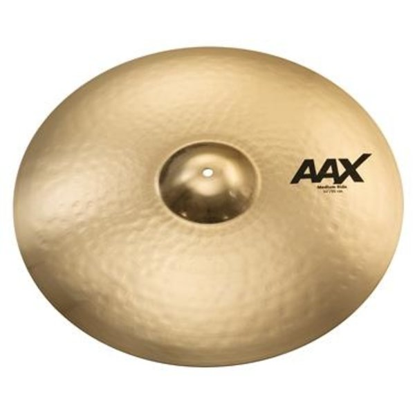"Sabian Sabian AAX Medium Ride Cymbal - 22"" - Brilliant"