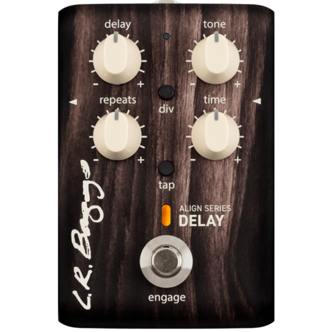 L.R. Baggs Align Series Acoustic Delay Pedal