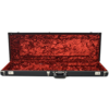 Deluxe Bass VI Hardshell Case, Black with Red Crush Interior