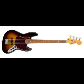 Fender 60s Jazz Bass Lacquer, Pau Ferro Fingerboard, 3-Color Sunburst