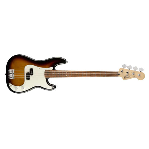 Fender Standard Precision Bass, Pau Ferro Fingerboard, Brown Sunburst