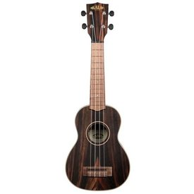 Kala Kala Concert Uke Satin/Solid Spruce/Striped Ebony