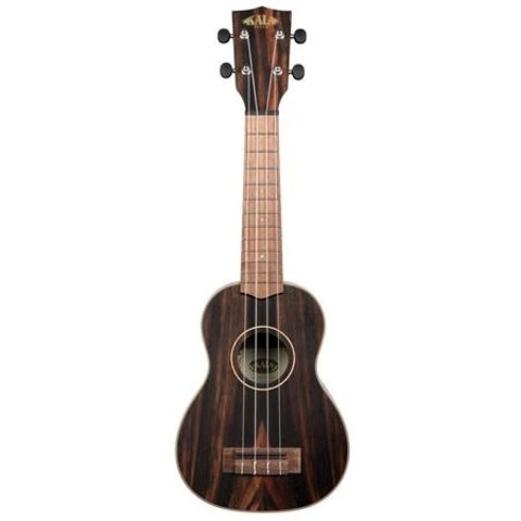 Kala Concert Uke Satin/Solid Spruce/Striped Ebony