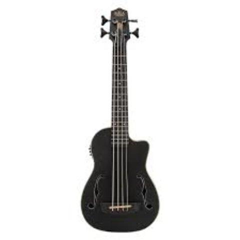 Kala Acoustic-Electric UBass Satin/Mahogany/Mahogany/Fretted W/Bag