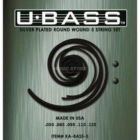 Kala Kala All 5-String UBass 5-String Set/Kala Metal Round Wound