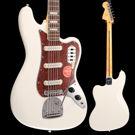 Squier Vintage Modified Bass VI, Rosewood Fingerboard, Olympic White S/N ICS18294769