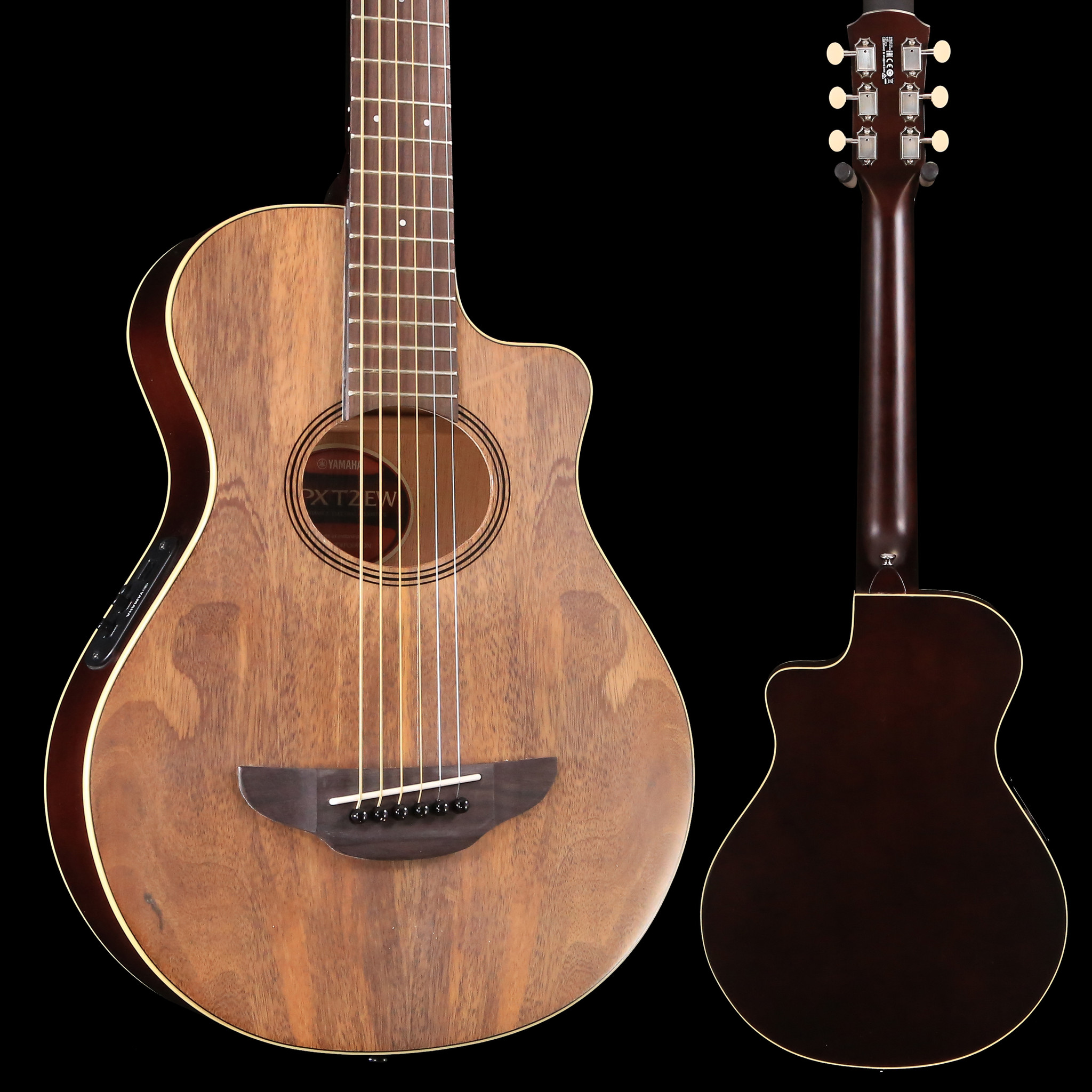 yamaha apxt2ew na natural 3 4 size apx thinline acoustic electric cutaway guitar melody music shop. Black Bedroom Furniture Sets. Home Design Ideas
