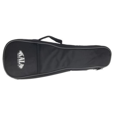 Kala Soprano Standard Ukulele Gig Bag W/ Gray Piping & Logo