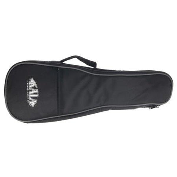 Kala Kala Soprano Standard Ukulele Gig Bag W/ Gray Piping & Logo