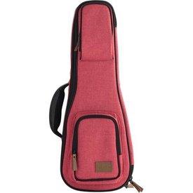 Kala Kala Concert Sonoma Coast Collection Red Ukulele Case
