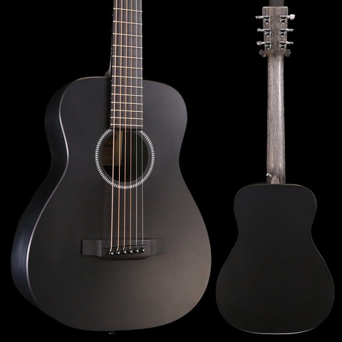 Martin LX BLACK New Little Martin w/ Deluxe Bag S/N 319489 3 lbs, 7.8 oz