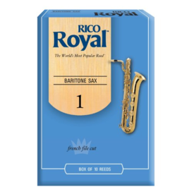 Rico Rico Royal Baritone Sax Reeds, Box of 10 Strength 1