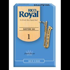 Rico Rico Royal Baritone Sax Reeds, Box of 10 Strength 1