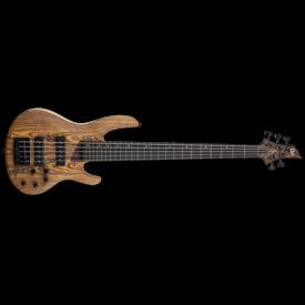 LTD ESP LTD B-1005 Natural Satin Mahogany Flamed Maple Top Electric Bass Guitar