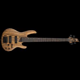 LTD ESP LTD B-1004 Natural Satin Mahogany Flamed Maple Top Electric Bass Guitar