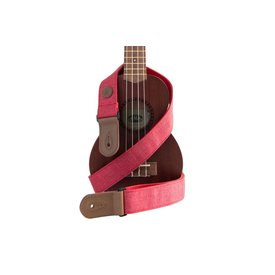 Kala Kala Strap Sonoma Coast Collection Red Ukulele Strap