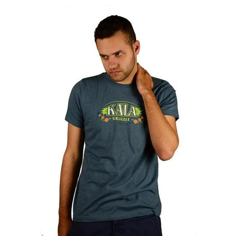Kala S, M, L, Xl, Xxl Hawaii Island Chain T-Shirt/Charcoal Gray