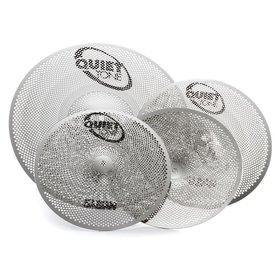 Sabian Sabian QTPC502  Quiet Tone Practice Cymbals Set Qtpc502