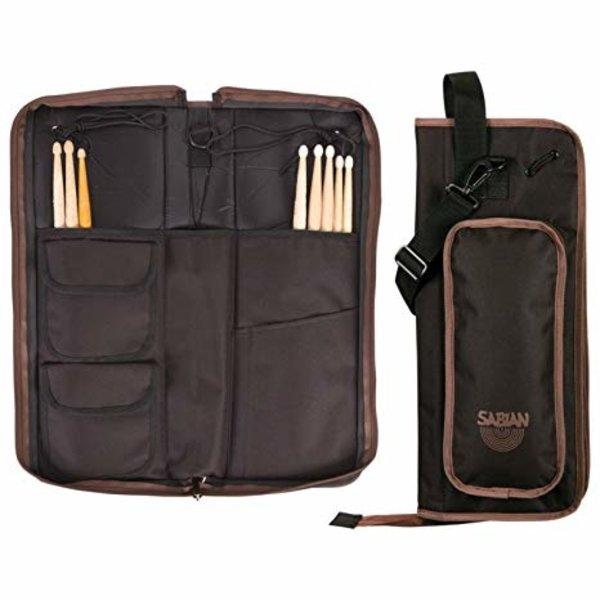 Sabian Sabian AS1BB  Arena Stick Bag (Black With Brown)