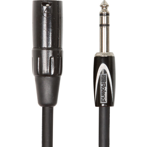 "Boss RCC-5-TRXM 5ft. Black Series 1/4"" IRS-XLR (M) Interconnect Cable"