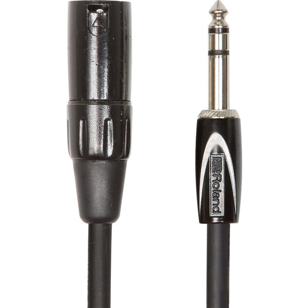 "Boss Boss RCC-5-TRXM 5ft. Black Series 1/4"" IRS-XLR (M) Interconnect Cable"
